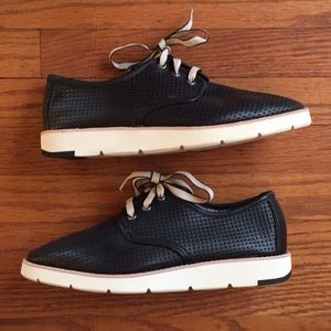 Johnston & Murphy Black Bree Oxford Sneakers 8